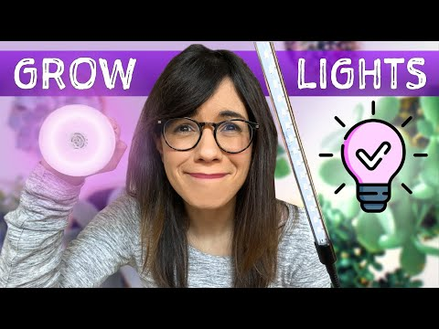GROW LIGHTS FOR HOUSEPLANTS | why, when, and how to use them 💡💡!